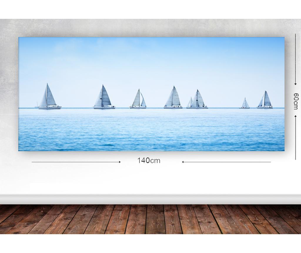 Slika Sailing On 60x140 cm
