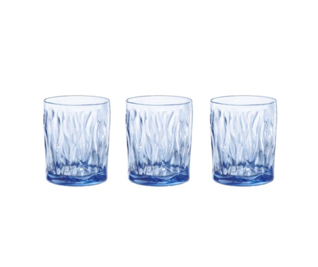 Set 3 kozarcev Wind Blue