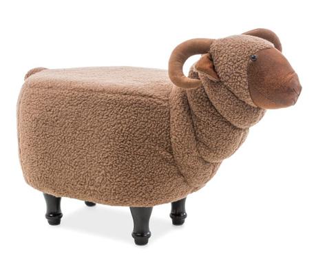 Dětský sedací puf Lamb