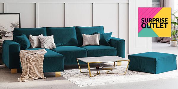 Surprise Outlet: Канапета и ъглови дивани