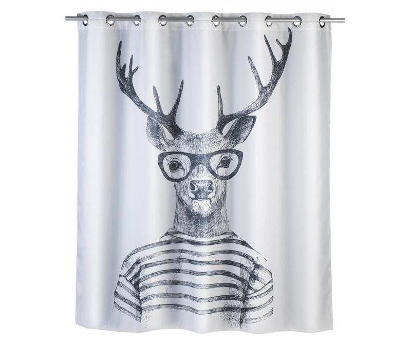 Zasłona prysznicowa Mr. Deer 180x200 cm