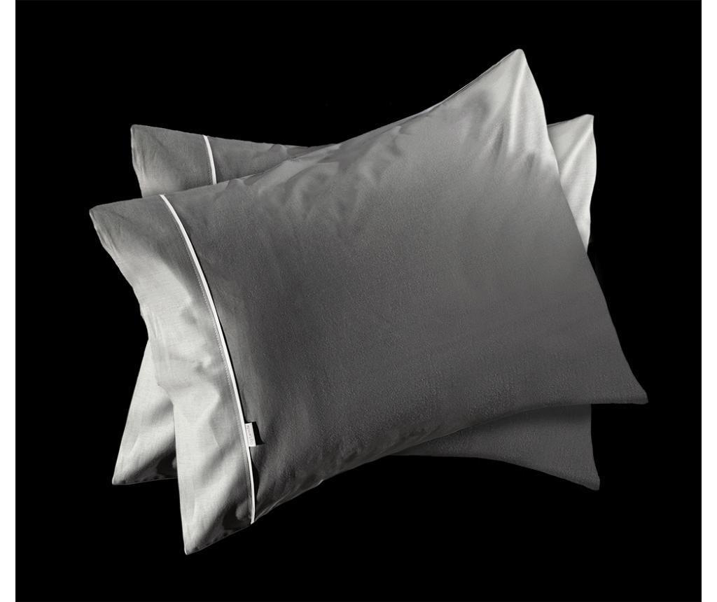 Cearsaf de pat Guy Laroche Home Reserve Titanium 160x270 cm