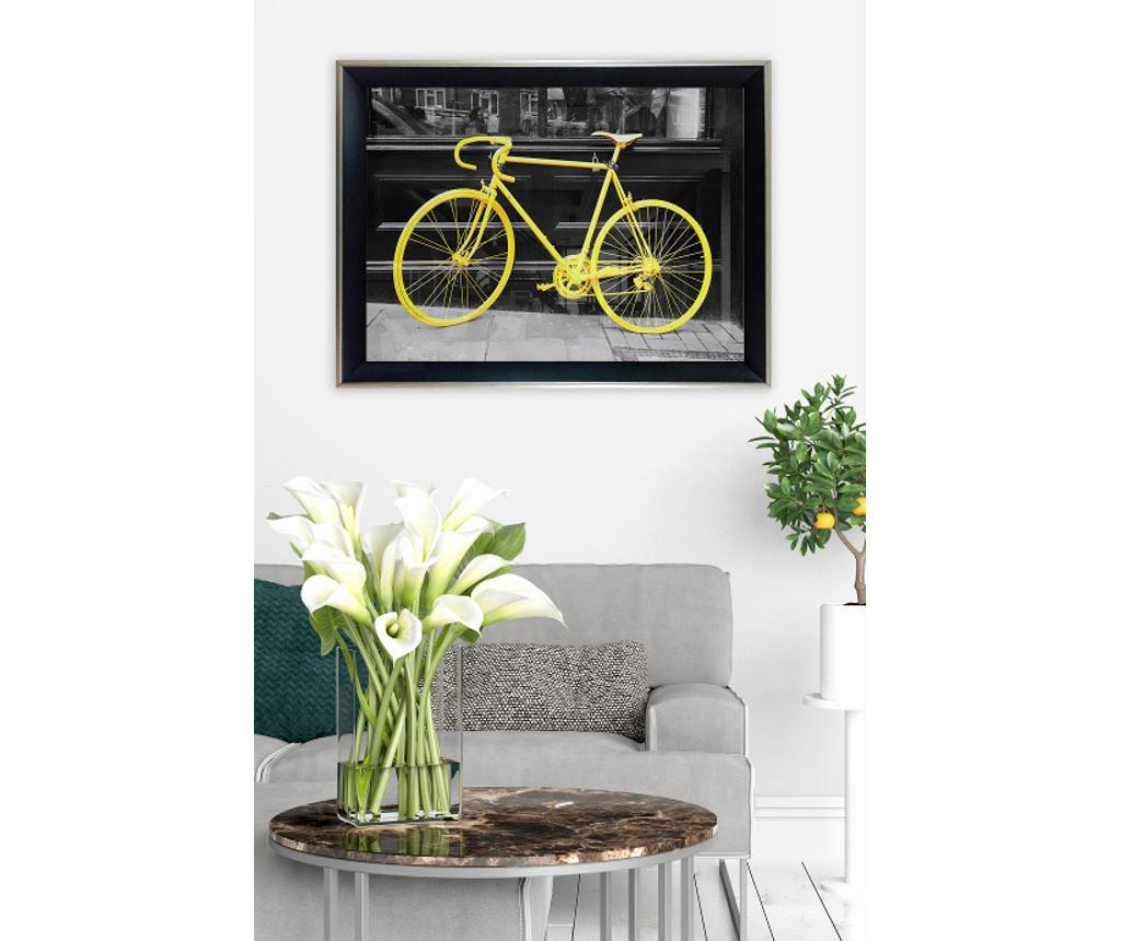 Obraz Yellow Bike 35x45 cm