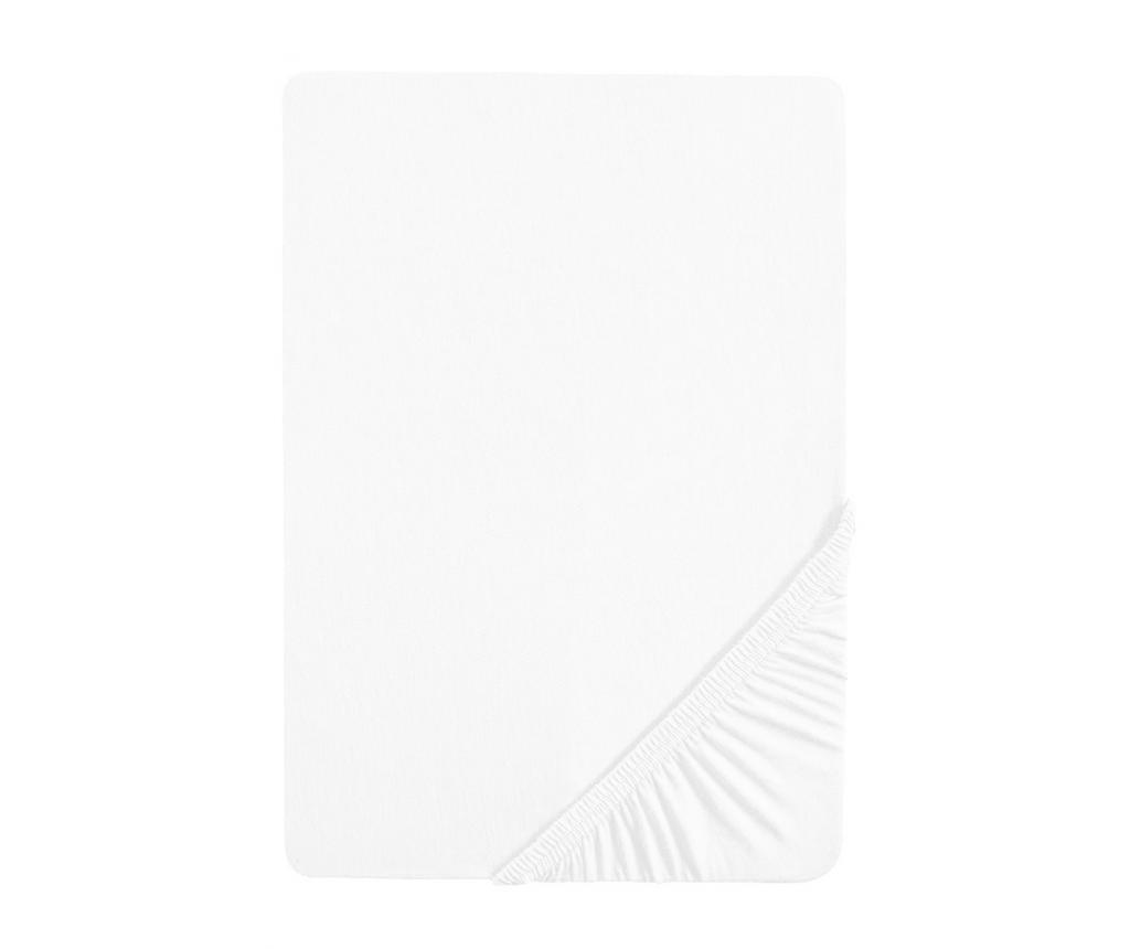 Cearsaf de pat cu elastic White 160x200 cm