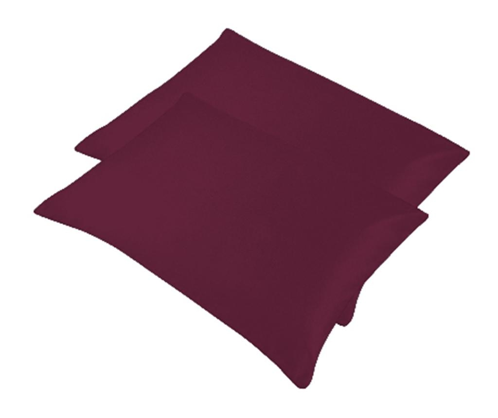 Set 2 jastučnice Bogo Maroon 50x70 cm