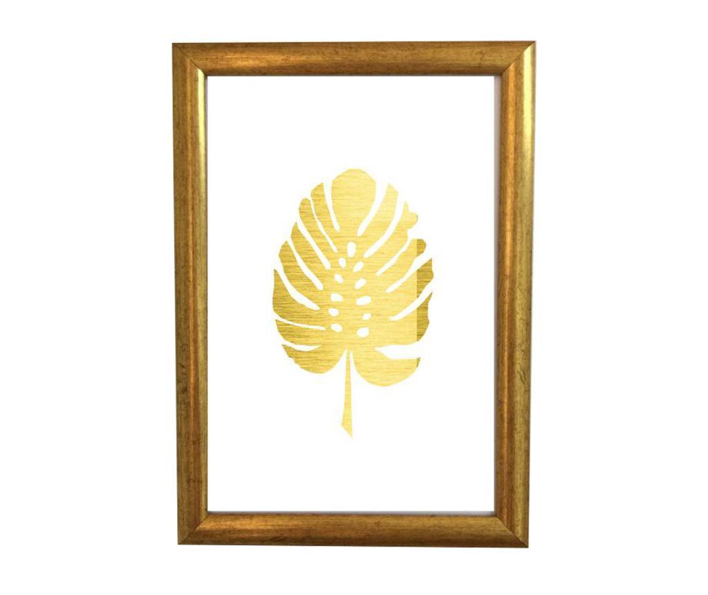 Tablou Gold Leaf 23.5x33.5 cm