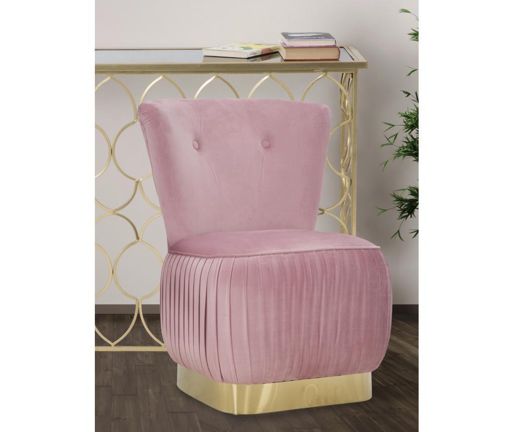 Fotelj Glam Lady Pink