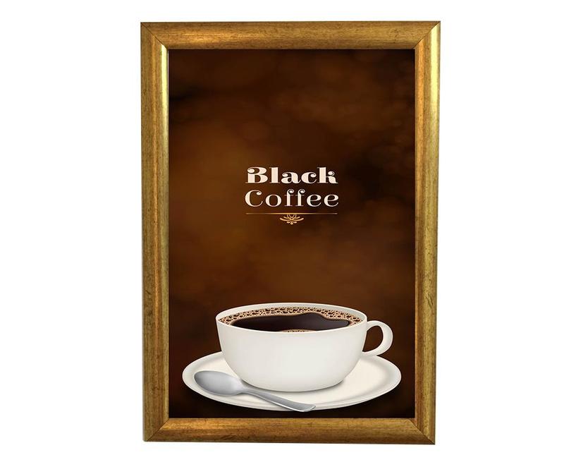 Tablou Black Coffee 30x40 cm