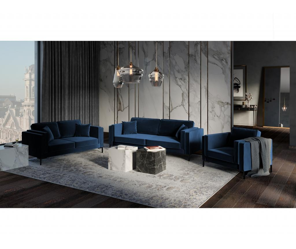 Canapea cu 2 locuri Luis Royal Blue