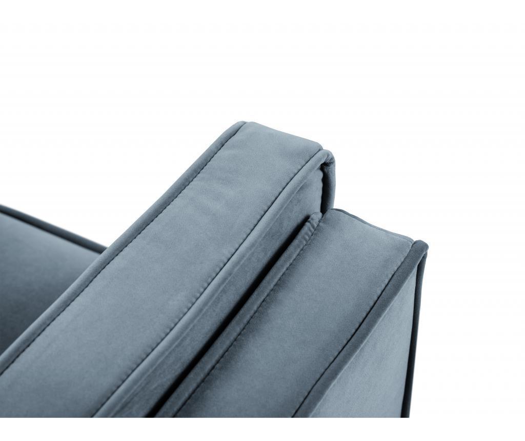Sofa cu 3 locuri Giuseppe Light Blue