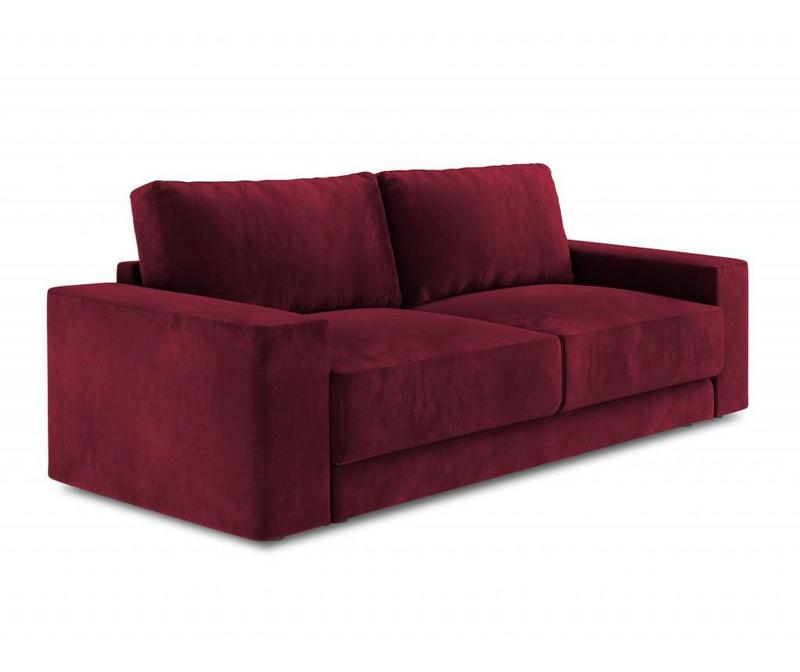 Canapea extensibila cu 4 locuri Gaia Red