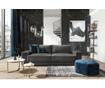Canapea extensibila cu 4 locuri Gaia Dark Grey