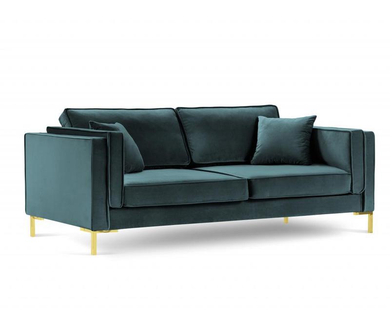 Sofa cu 4 locuri Giuseppe Petrol