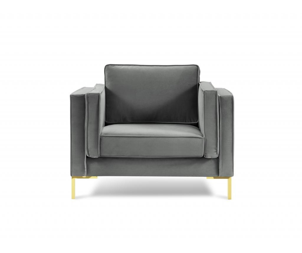 Giuseppe Light Grey Fotel