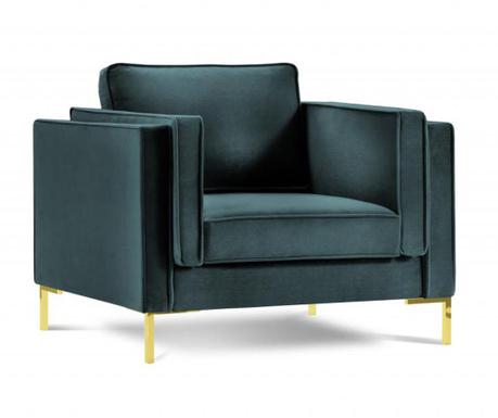 Fotelj Giuseppe Petrol
