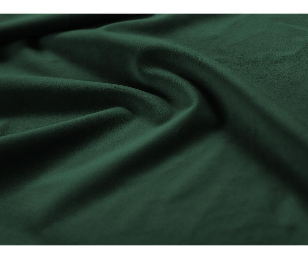 Valentina Bottle Green Baloldali kihúzható sarokkanapé