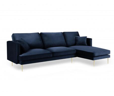 Desna kotna sedežna garnitura Brunello Royal Blue
