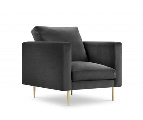 Fotelja Brunello Dark Grey