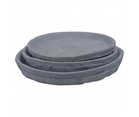Set 3 farfurioare pentru ghivece