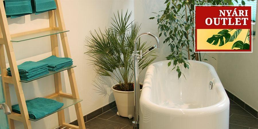 Nyári Outlet: Fürdőszoba és tárolás