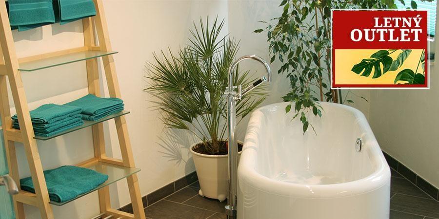 Letný Outlet: Kúpeľňa a skladovanie