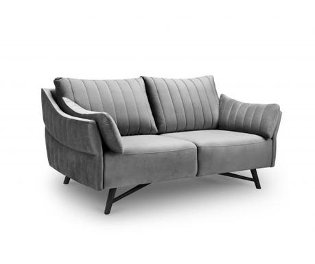 Sofa trosjed Louvres Light Grey