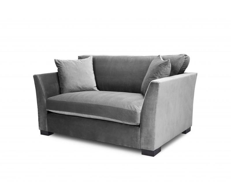 Canapea 2 locuri Times Light Grey