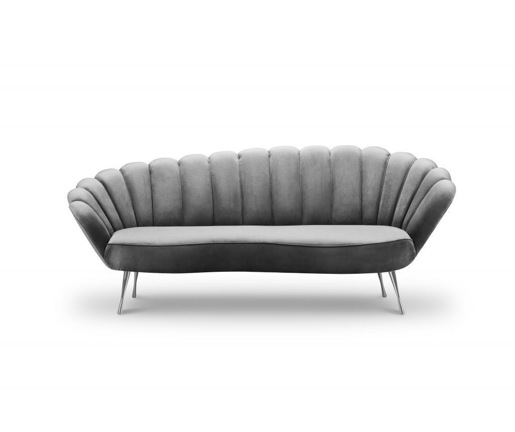 Canapea 3 locuri Avenir Grey