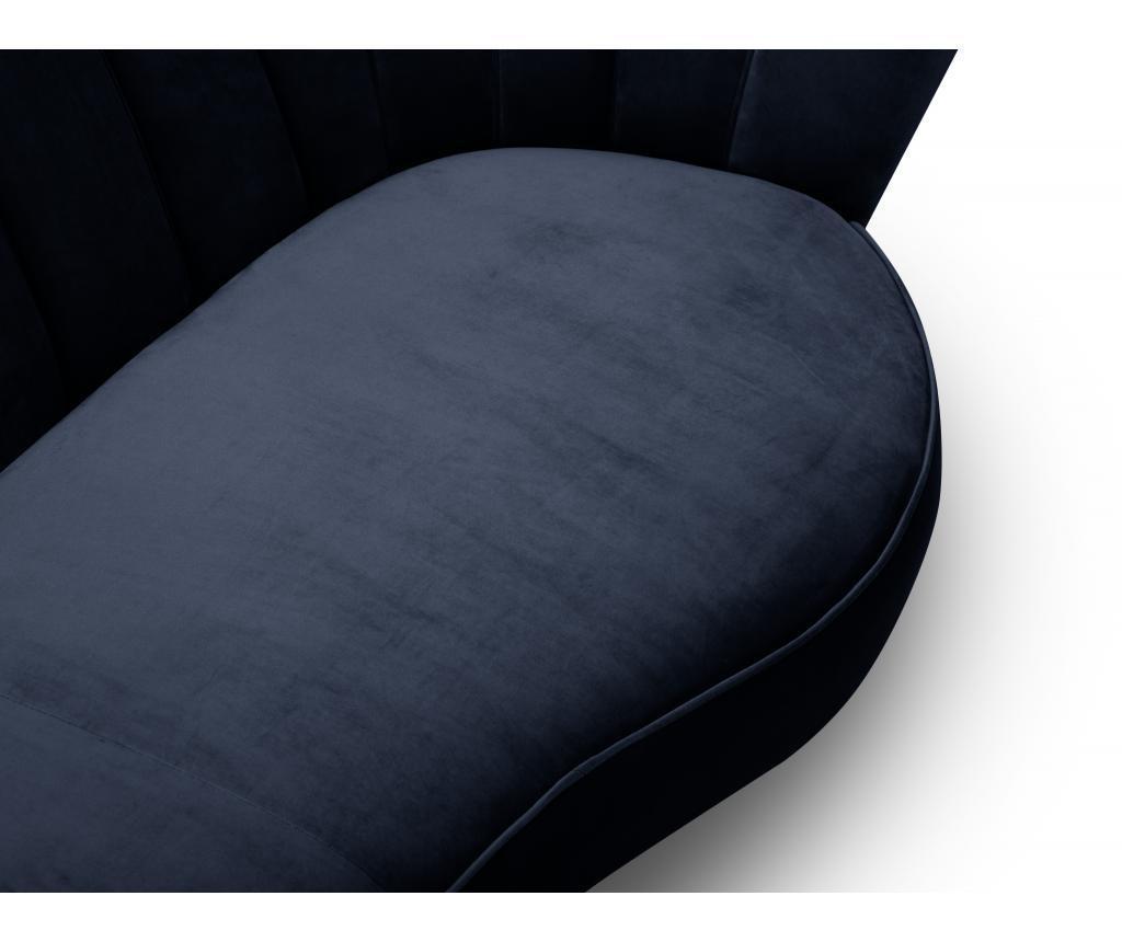 Canapea 3 locuri Avenir Navy Blue