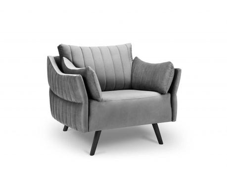 Fotel Louvres Light Grey