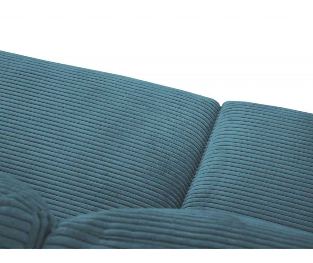 Kauč četvorosjed na razvlačenje Donatella  Turquoise