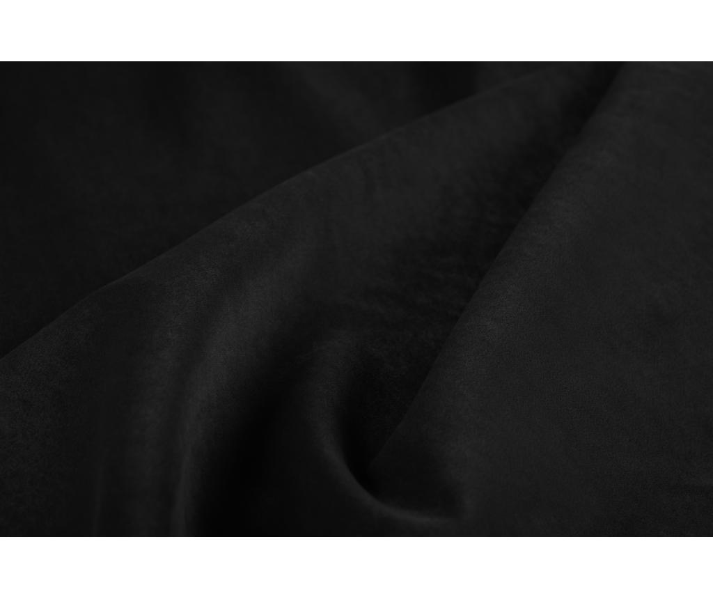 Coltar dreapta extensibil 6 locuri Gaia  Black