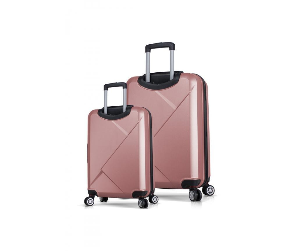 Set 2 trolere Diamond Rose Gold