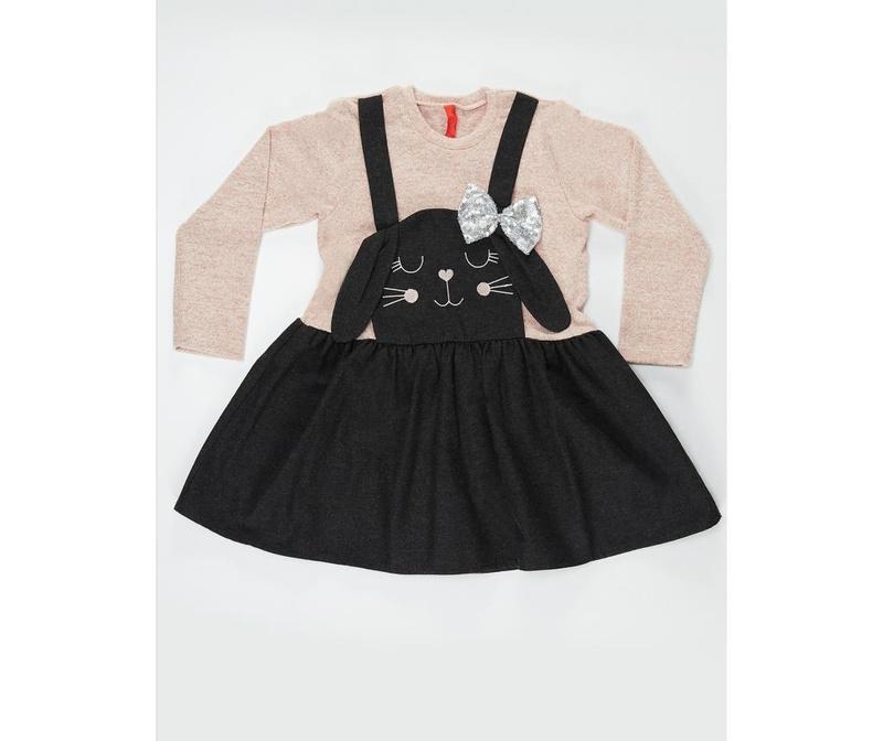 Dječja haljina Black Bunny 6 god.