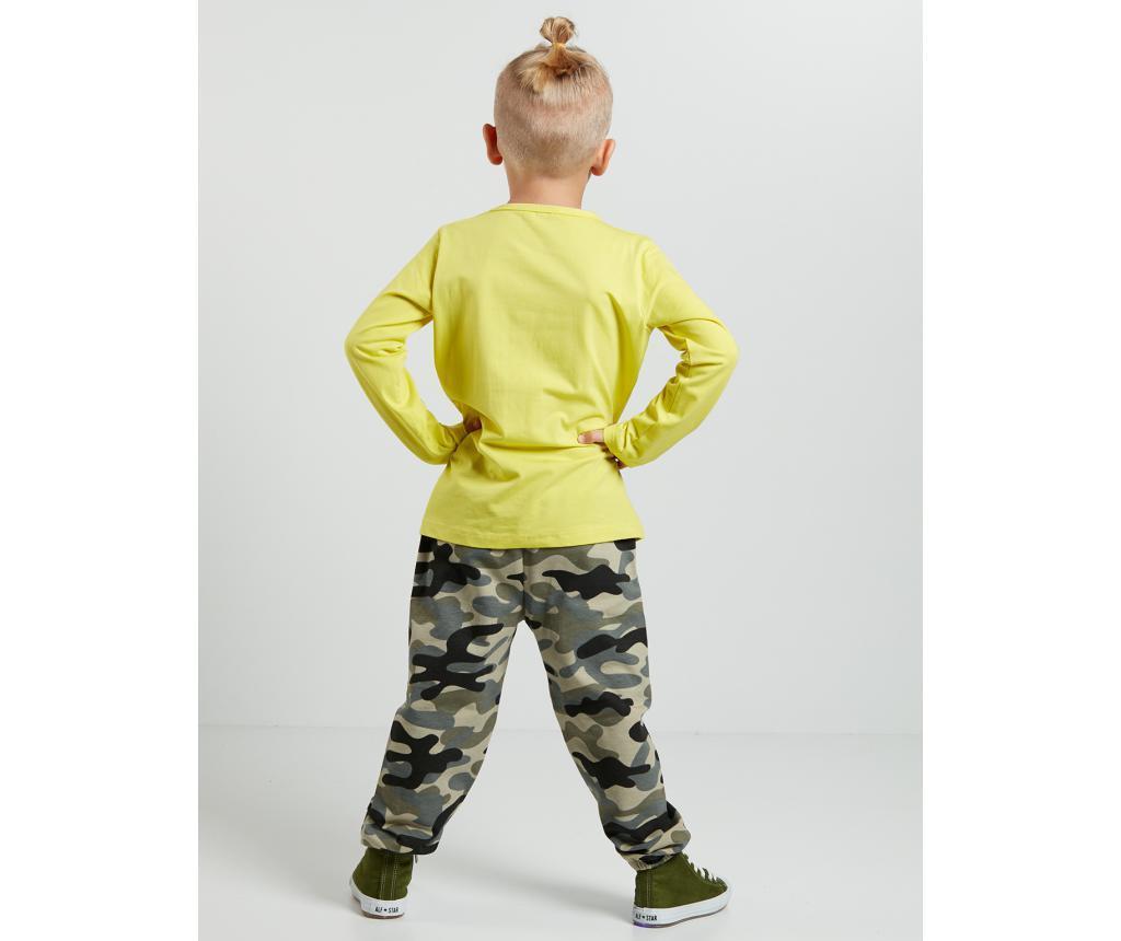 Set bluza si pantaloni pentru copii Military Camp 5 ani