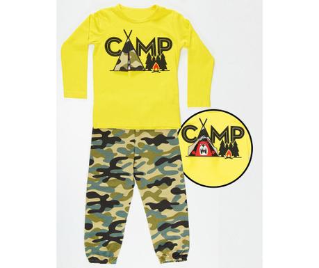 Set bluza si pantaloni pentru copii Military Camp 9 ani