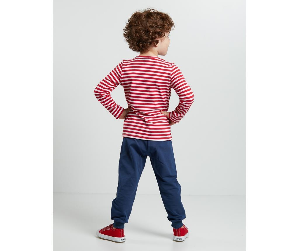 Set bluza si pantaloni pentru copii Pirate Striped 6 ani