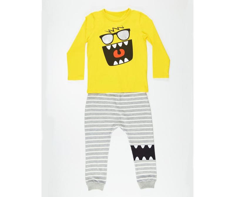 Set bluza si pantaloni pentru copii Mr Glasses 6 ani