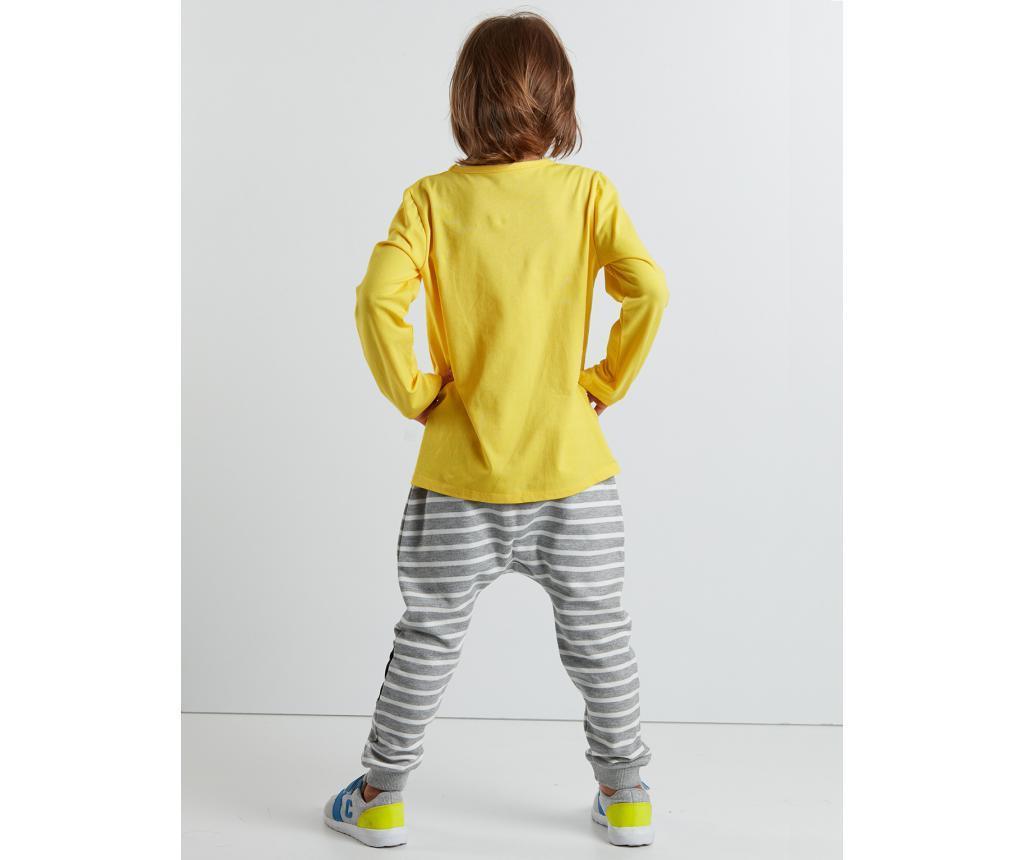 Set bluza si pantaloni pentru copii Mr Glasses 7 ani