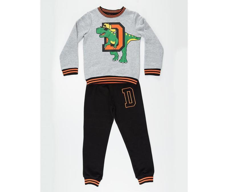 Set bluza si pantaloni Dino D 2 ani