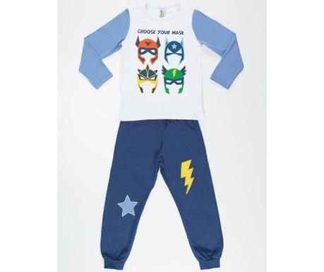 Set bluza si pantaloni pentru copii Masks 5 ani