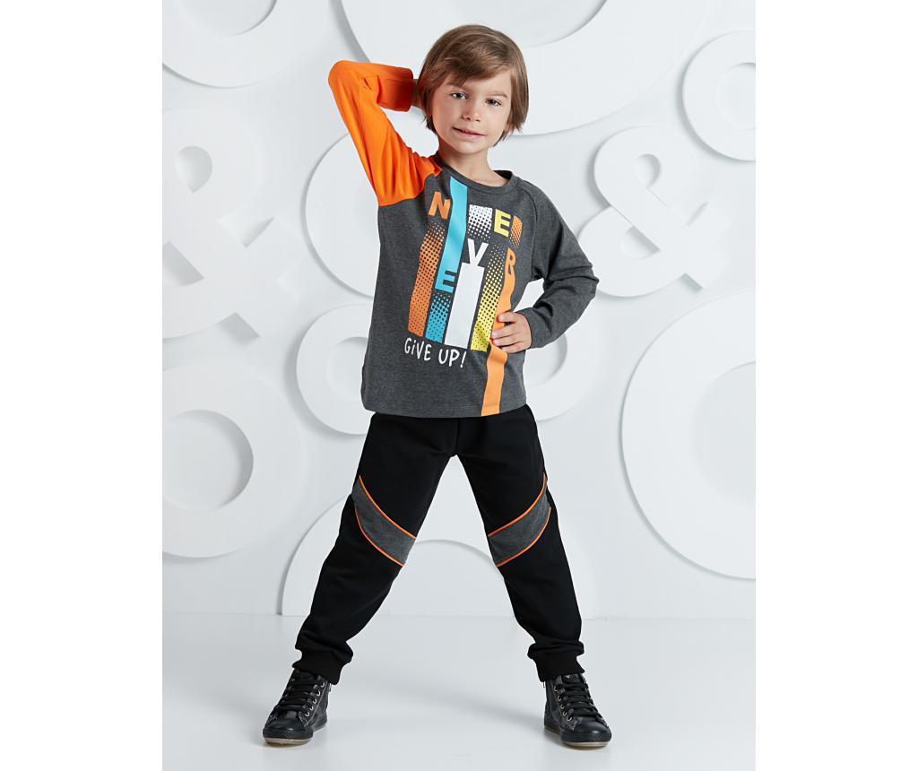 Set bluza si pantaloni pentru copii Never 6 ani