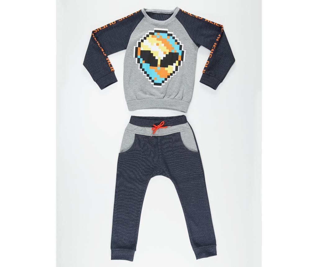 Set dječja bluza i hlače Alien 10 god.