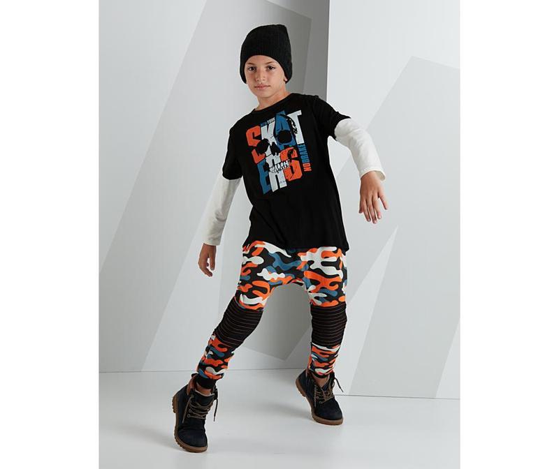 Set dječja bluza i hlače Skater Camouflage 8 god.