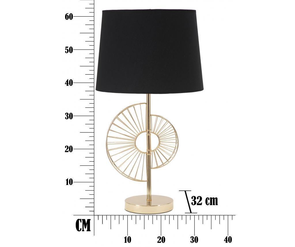 Glam Half Asztali lámpa