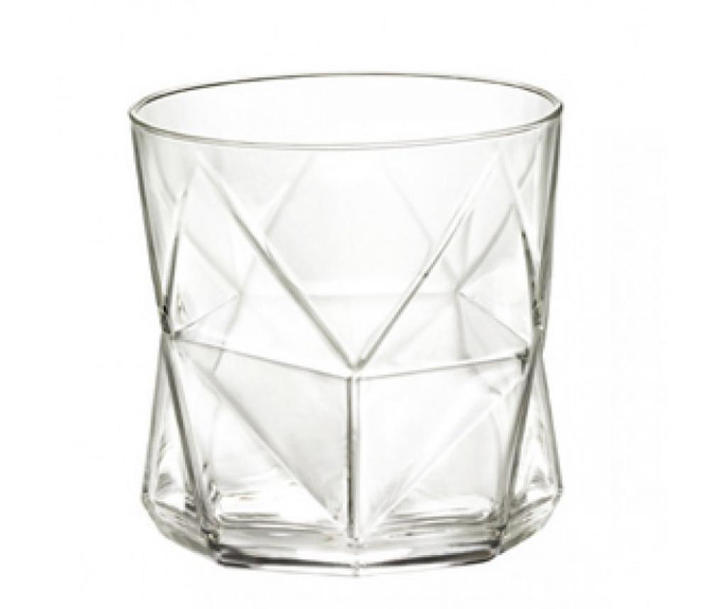 Set 4 kozarcev za vodo Cassiopea Transparent 320 ml