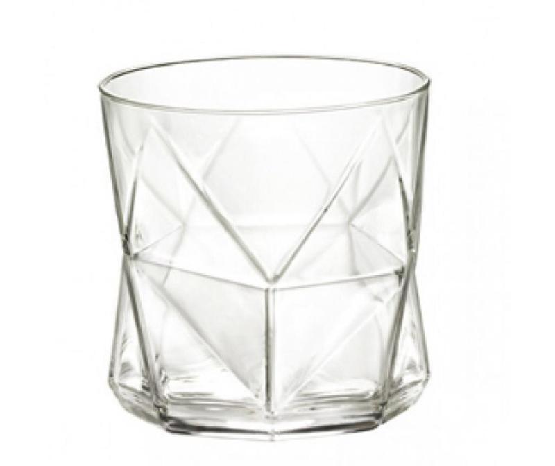 Set 4 čaša za vodu Cassiopea Transparent 320 ml
