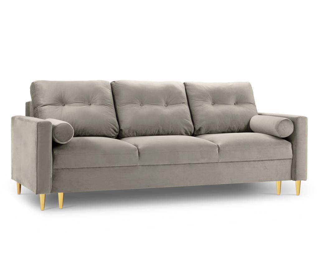 Tokyo Cream Háromszemélyes kihúzható kanapé