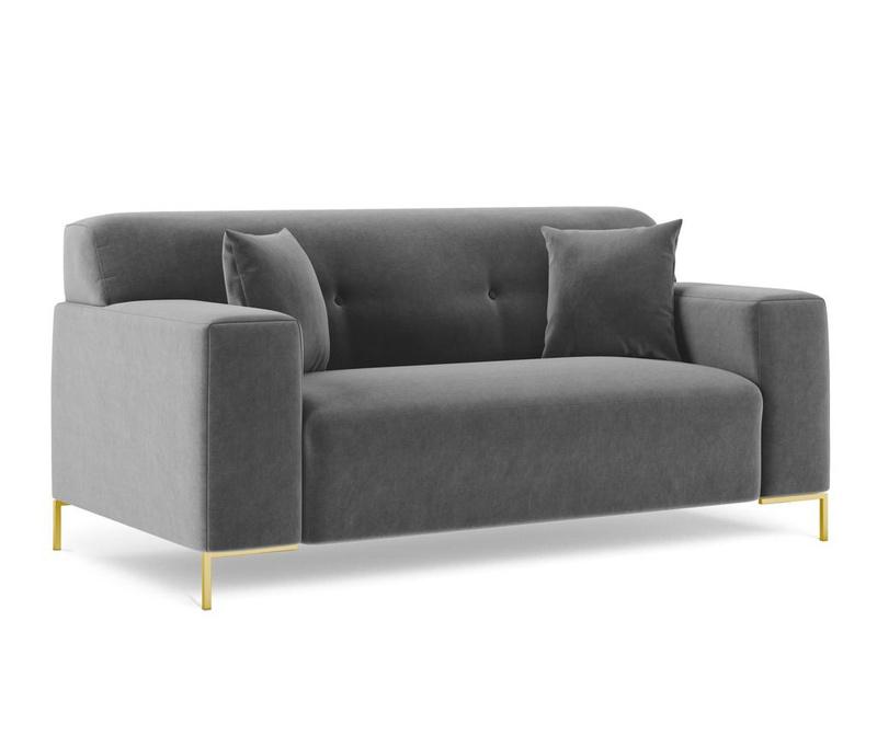 Sofa dvosjed Rhythm Dark Grey
