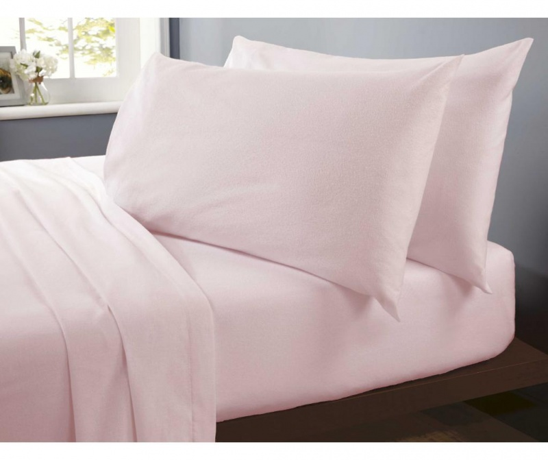 Rjuha z elastiko King Flannelette Pink